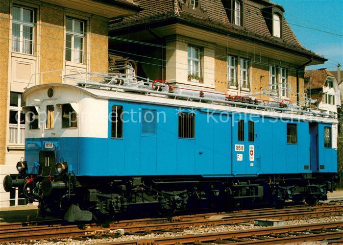Eisenbahn Schweiz Bundesbahn SBB Gepaecktriebwagen Fe 4 4 18518  Eisenbahn Kat. Eisenbahn