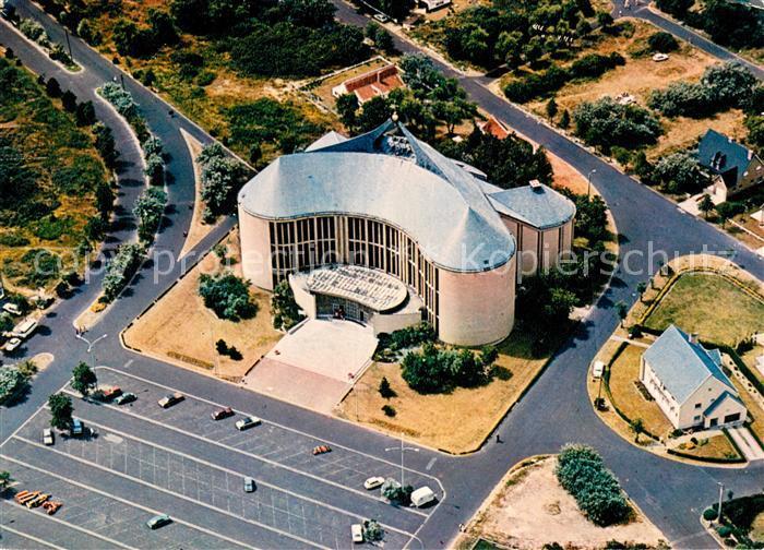 Koksijde Eglise Notre Dame des Dunes Vue Aerienne  Koksijde Kat.
