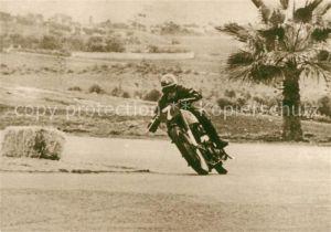 Motorrad Norton Hans Haldemann Casablanca 1949 Motorrad Kat. Zweiraeder
