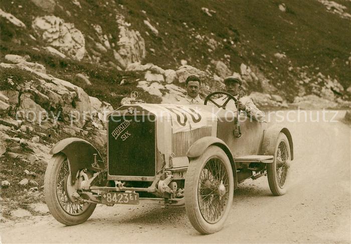 Autorennen Martini Louis Monard Klausenrennen 1926 Autorennen Kat. Autos