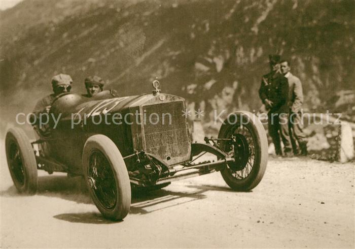 Autos Klausenrennen 1927 Heusser C Rennwagen Autos Kat. Autos
