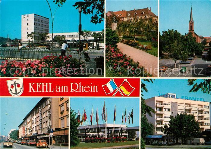 AK / Ansichtskarte Kehl Rhein Ortsansichten Kehl Rhein Kat. Kehl