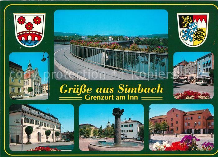 Simbach Inn Ortsansichten  Simbach Inn Kat. Simbach a.Inn