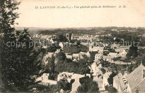 Lannion Vue generale prise de Brelevenez Lannion Kat. Lannion