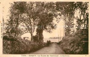 Erquy La Route du Carroual Arrivee Erquy Kat. Erquy