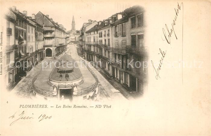 Plombieres les Bains Vosges Les Bains Romains Plombieres les Bains Kat. Plombieres les Bains