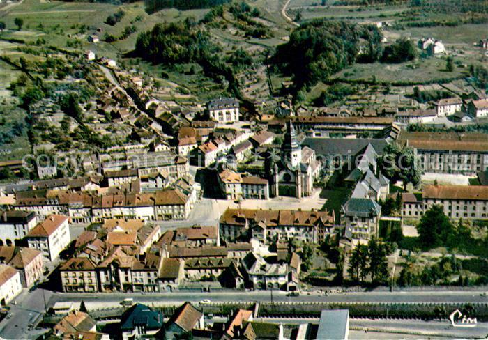 AK / Ansichtskarte Senones Vosges Fliegeraufnahme Kirche Kloster Zentrum Senones Vosges Kat. Senones
