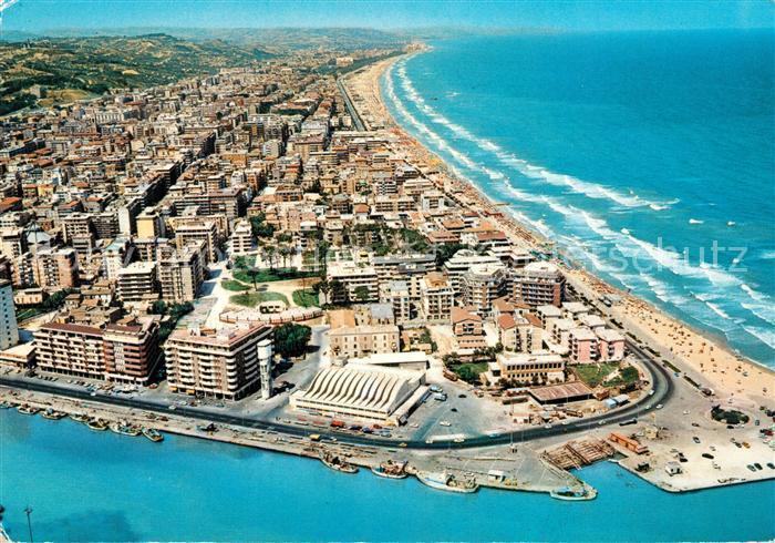 Pescara Strand ak ansichtskarte pescara fliegeraufnahme strand pescara
