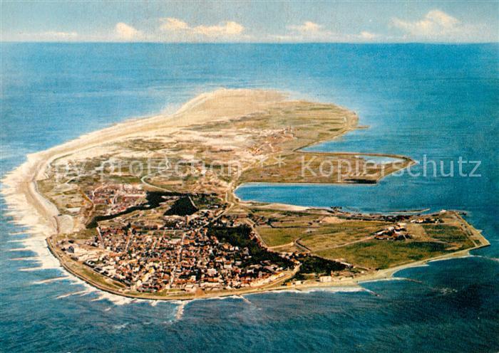 AK / Ansichtskarte Norderney Nordseebad Nordseeinsel Luftbild aus 1000 m Hoehe Norderney Nordseebad Kat. Norderney