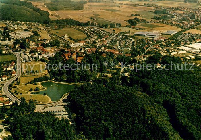 AK / Ansichtskarte Bad Iburg Kneipp Luftkurort am Teutoburger Wald Fliegeraufnahme Bad Iburg Kat. Bad Iburg
