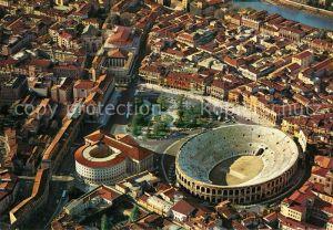 AK / Ansichtskarte Verona Veneto Arena veduta aerea Verona Veneto Kat. Verona