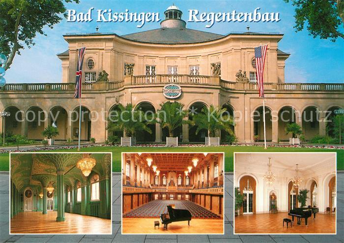 AK / Ansichtskarte Bad Kissingen Regentenbau  Bad Kissingen Kat. Bad Kissingen