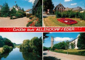 AK / Ansichtskarte Allendorf Eder Ortsansichten Allendorf Eder Kat. Allendorf (Eder)