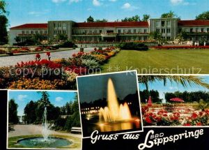 AK / Ansichtskarte Bad Lippspringe Kurhaus  Bad Lippspringe Kat. Bad Lippspringe