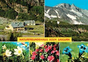 AK / Ansichtskarte Kolm Saigurn Naturfreundehaus  Kolm Saigurn Kat. Rauris