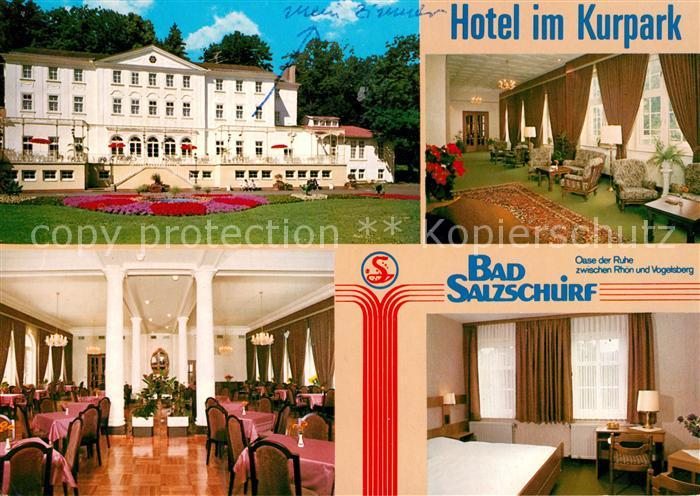 AK / Ansichtskarte Bad Salzschlirf Hotel im Kurpark Bad Salzschlirf Kat. Bad Salzschlirf