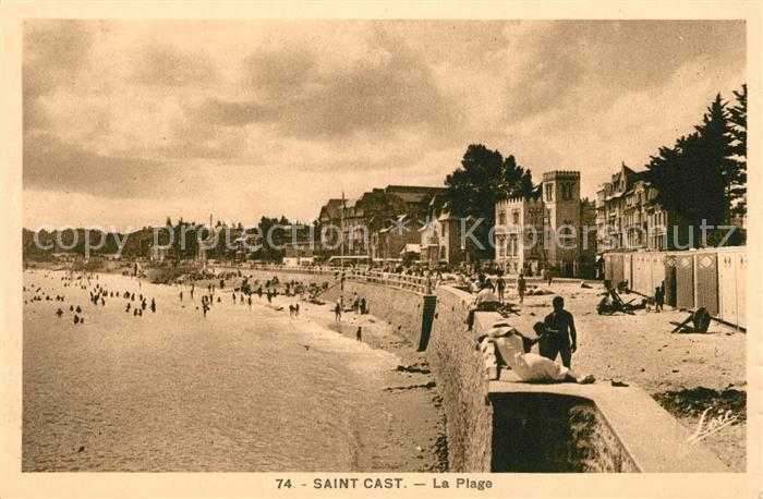 AK / Ansichtskarte Saint Cast le Guildo La Plage Saint Cast le Guildo Kat. Saint Cast le Guildo