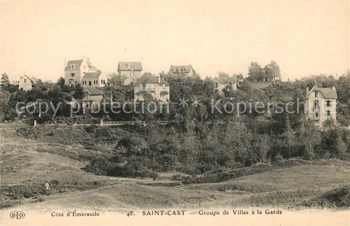 AK / Ansichtskarte Saint Cast le Guildo Groupe de Villas a la Garde Saint Cast le Guildo Kat. Saint Cast le Guildo