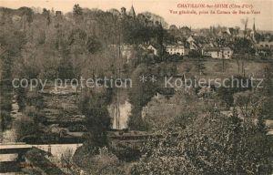 AK / Ansichtskarte Chatillon sur Seine Vue generale prise du Coteau de Bec a Vent Chatillon sur Seine Kat. Chatillon sur Seine