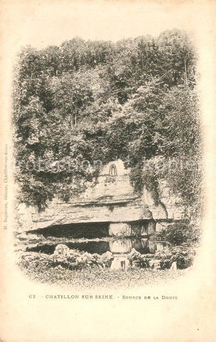 AK / Ansichtskarte Chatillon sur Seine Source de la Douix Chatillon sur Seine Kat. Chatillon sur Seine