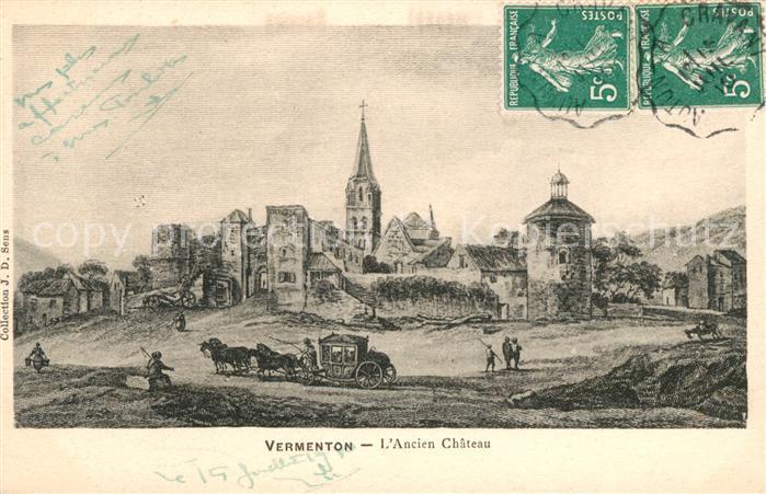 AK / Ansichtskarte Vermenton Ancien Chateau Vermenton Kat. Vermenton