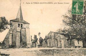 AK / Ansichtskarte Toulx Sainte Croix Eglise pres Boussac Toulx Sainte Croix Kat. Toulx Sainte Croix