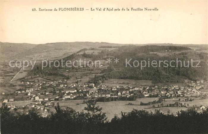 AK / Ansichtskarte Plombieres les Bains Vosges Le Val d'Ajol pris de la Feuillee Nouvelle Plombieres les Bains Kat. Plombieres les Bains