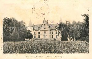 AK / Ansichtskarte Semur en Auxois Chateau de Bourbilly Semur en Auxois Kat. Semur en Auxois