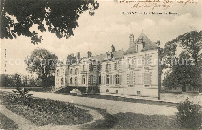 AK / Ansichtskarte Flogny la Chapelle Le Chateau de Percey Flogny la Chapelle Kat. Flogny la Chapelle