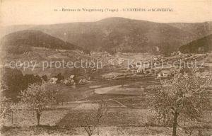 AK / Ansichtskarte Wangenbourg Engenthal Schneeberg et Schneetal Wangenbourg Engenthal Kat. Wangenbourg Engenthal