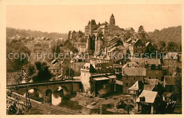 AK / Ansichtskarte Uzerche Une des villes les plus curieuses de France par son site et son caractere archaique Uzerche Kat. Uzerche