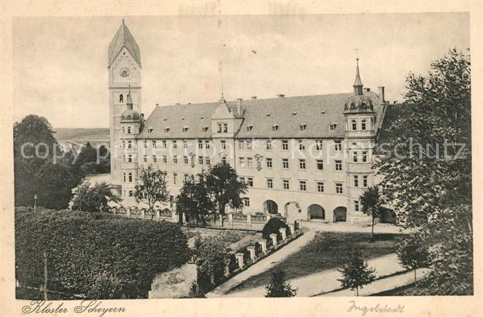 AK / Ansichtskarte Ingolstadt Donau Kloster Scheyern Ingolstadt Donau Kat. Ingolstadt