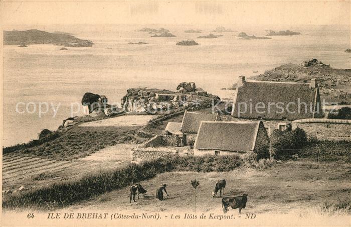 AK / Ansichtskarte Ile de Brehat Les Ilots de Kerpont Ile de Brehat Kat. Ile de Brehat