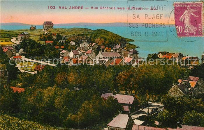 AK / Ansichtskarte Val Andre Vue generale vers le Pisset Val Andre Kat. Pleneuf Val Andre