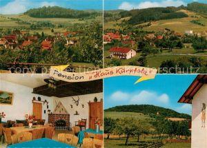 AK / Ansichtskarte Beerfurth Pension Haus Kurpfalz Panoramen Beerfurth Kat. Reichelsheim (Odenwald)