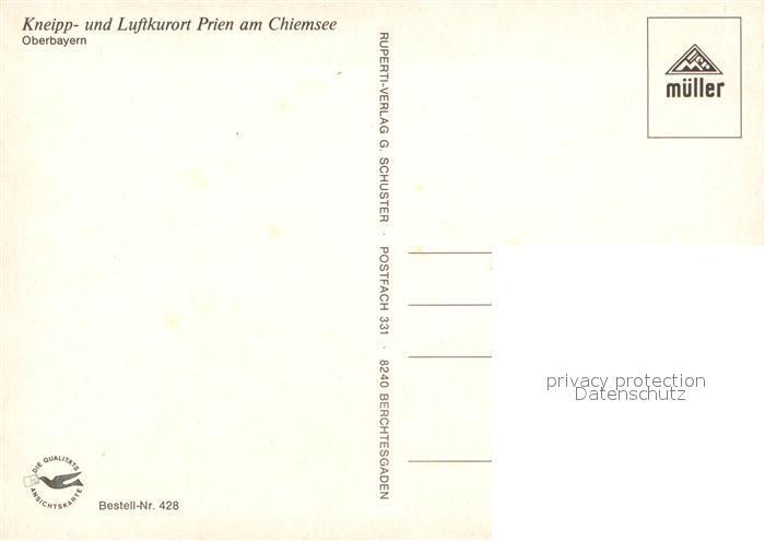 Prien Am Chiemsee Karte.Ak Ansichtskarte Prien Chiemsee Fliegeraufnahme Prien Chiemsee Kat Prien A Chiemsee