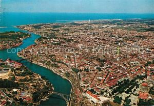 AK / Ansichtskarte Porto Portugal Fliegeraufnahme Tres Pontes  Porto Portugal Kat. Porto