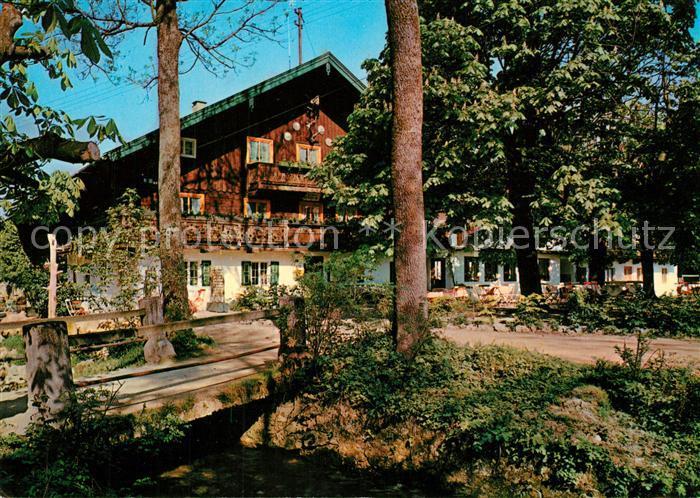 AK / Ansichtskarte Bad Heilbrunn Gasthaus Pension Cafe Ramsau Bad Heilbrunn Kat. Bad Heilbrunn