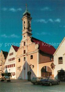 AK / Ansichtskarte Aichach Heiliggeist Spitalkirche Aichach Kat. Aichach