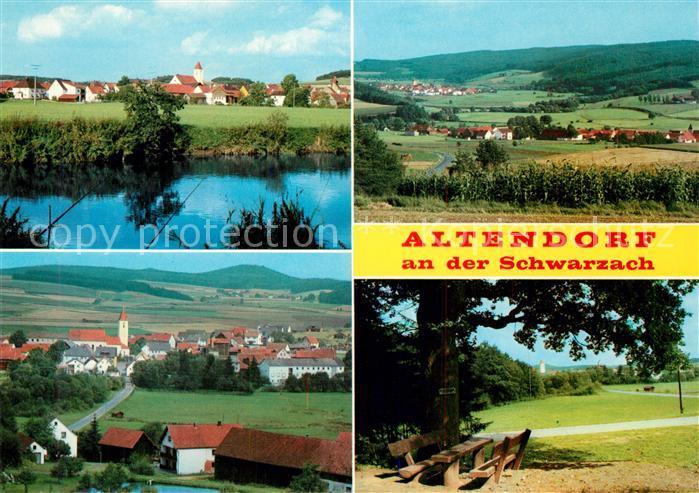 AK / Ansichtskarte Altendorf Nabburg Panoramen Altendorf Nabburg Kat. Altendorf