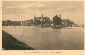 AK / Ansichtskarte Neuburg Donau Schloss Donaupartie Neuburg Donau Kat. Neuburg a.d.Donau