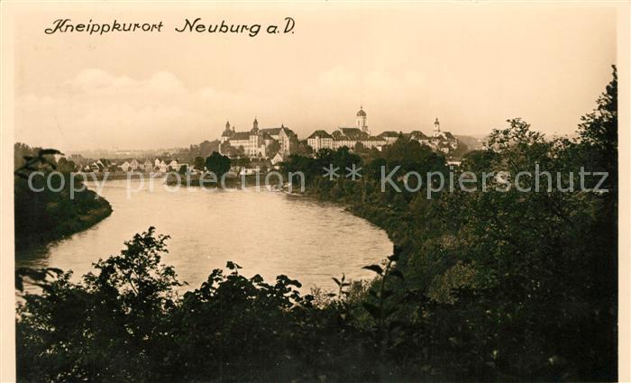 AK / Ansichtskarte Neuburg Donau Panorama Neuburg Donau Kat. Neuburg a.d.Donau