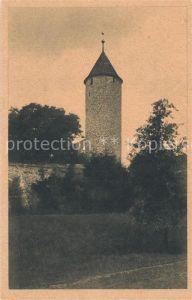 AK / Ansichtskarte Uffenheim Buergerturm Uffenheim Kat. Uffenheim