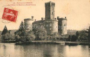 AK / Ansichtskarte Limoges Haute Vienne Le Chateau de Montbrun  Limoges Haute Vienne Kat. Limoges