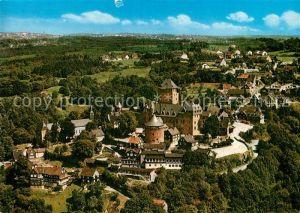 AK / Ansichtskarte Schloss Burg Wupper Fliegeraufnahme Schloss Schloss Burg Wupper Kat. Solingen