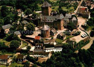AK / Ansichtskarte Schloss Burg Wupper Fliegeraufnahme Wahrzeichen des Bergischen Landes Schloss Burg Wupper Kat. Solingen