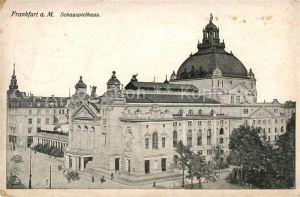 AK / Ansichtskarte Frankfurt Main Schauspielhaus Frankfurt Main Kat. Frankfurt am Main