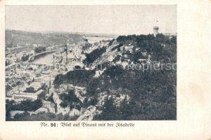 AK / Ansichtskarte Dinant Wallonie mit der Zitadelle Dinant Wallonie Kat. Dinant