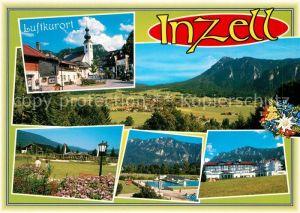 AK / Ansichtskarte Inzell Schwimmbad Panoramen Inzell Kat. Inzell