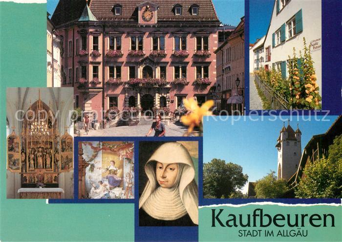 AK / Ansichtskarte Kaufbeuren Crecentia Seligsprechung Turm Altar Kaufbeuren Kat. Kaufbeuren